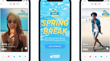 Tinder goes into Spring Break mode for college students