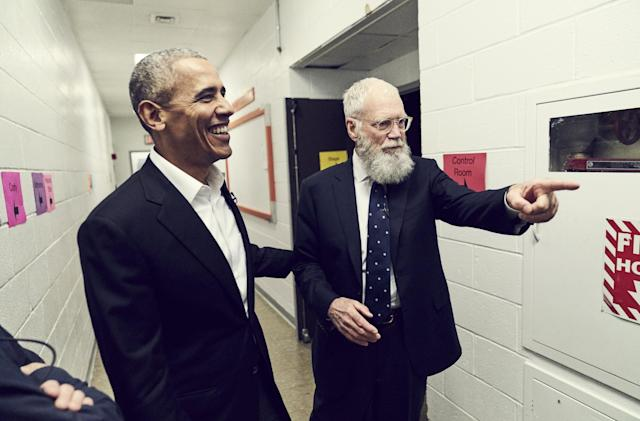 David Letterman's Netflix talk show snags Obama as the first guest