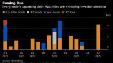 Evergrande Shares Rebound, Bonds Swing in Volatile Trading
