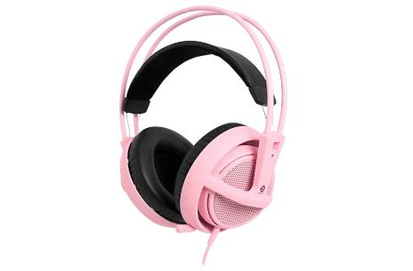 SteelSeries Siberia v2 Pink Edition benefits breast cancer research