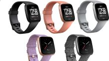 The Fitbit Versa smartwatch is small, cheap and sweet