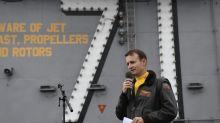 Ex-Flugzeugträger-Kapitän: Trump will sich einschalten