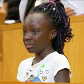 Young Girl's Emotional Council Speech Laments 'Shame' of f Fatal Charlotte Shooting