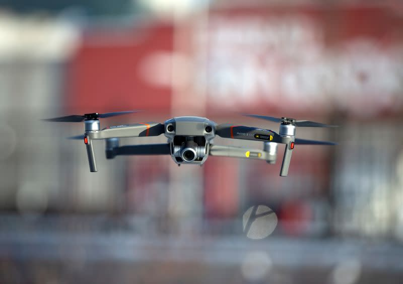Game of drones: Chinese giant DJI hit by U.S. tensions, staff defections - Yahoo Finance