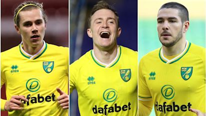 The key players responsible for Norwich's swift return to the Premier League