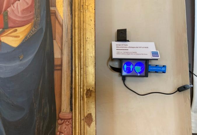 An Italian museum added cameras next to art works to gauge viewer activities.