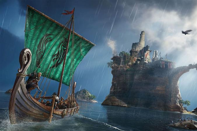 A longboat in 'Assassin's Creed Valhalla'