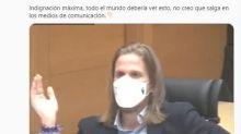 """El tremendo enfado de un dirigente de Podemos: """"¡Pero usted qué se piensa!"""""""