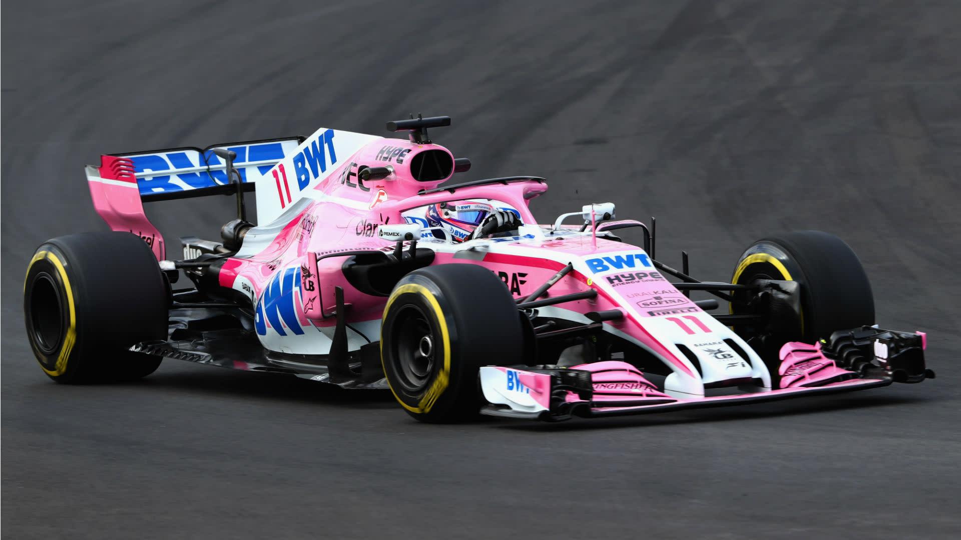 Αποτέλεσμα εικόνας για FORMULA 1 Force India 2018