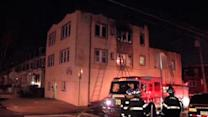 Fire destroys several apartments in Frankford