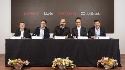 Toyota, SoftBank fund, Denso invest $1B in Uber