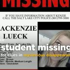 Utah police hunt for clues in student's mysterious disappearance