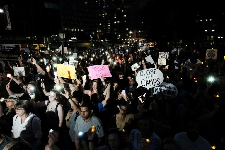 Protests took place around the country Friday calling for the closure of the detention facilities