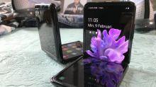 Rahasia layar kaca Samsung Galaxy Z Flip bisa dilipat