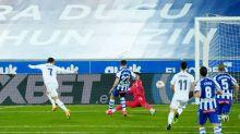 Hazard pone fin a su sequía goladorea en victoria del Real Madrid frente al Alavés