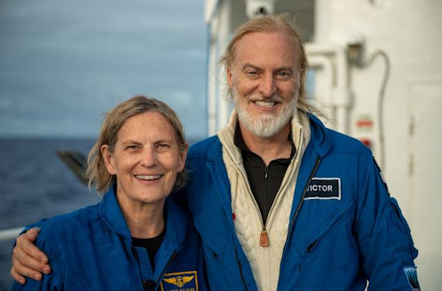 The first American woman to spacewalk has now conquered the deepest ocean