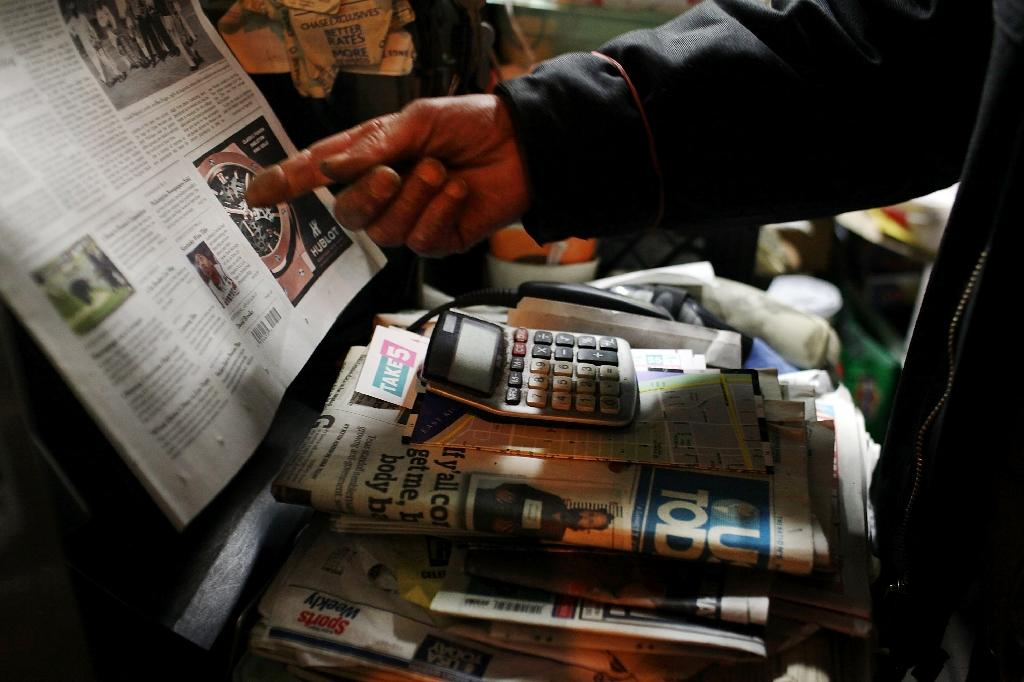 Official US Labor Department data showed the newspaper sector lost 271,800 jobs in the period from January 1990 to March 2016, or 59.7 percent of the total over the past 26 years