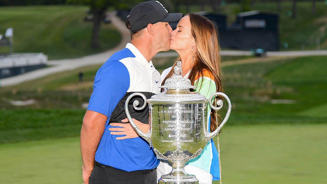 'Good luck charm': The women behind golf's new superstar