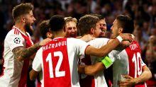 Former Man Utd defender Blind scores hat-trick as Ajax stroll to 8-0 win
