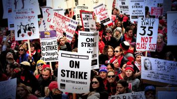 Are unions regaining their power?