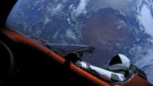 Elon Musk Launched A Tesla to Float in Space in 2018.  It Just Zoomed Past Mars