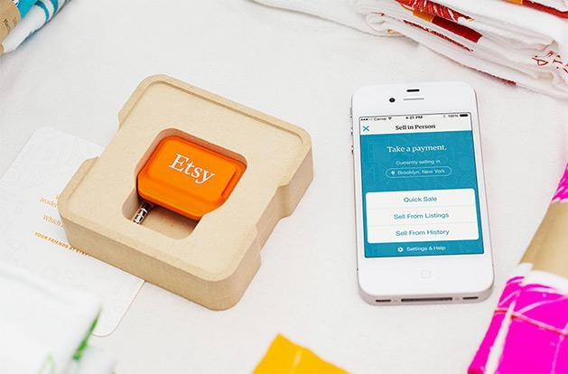 Etsy takes a stab at real world sales with free credit card readers