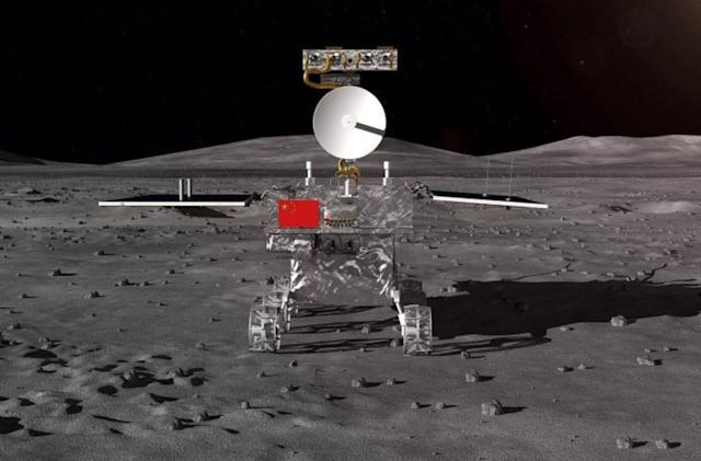 China's rover finds mysterious minerals on the far side of the moon