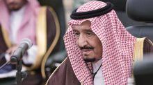 El rey Salman viaja a una ciudad futurista para recuperarse de una operacón