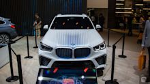 BMW shows off a fuel-cell version of its X5 SUV
