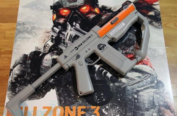 PlayStation Move Sharpshooter hands-on: a first-party SMG peripheral coming in February