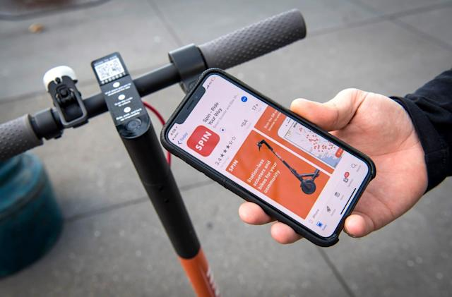 Ford is reportedly buying e-scooter startup Spin