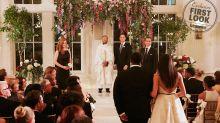 'Suits' Finale Wedding Photos Show Meghan Markle as Bride