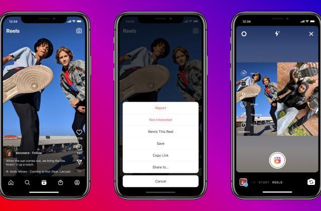 Instagram brings TikTok Duet-style collaborations to Reels