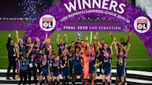 Lyon claim fifth successive Champions League crown with win over Wolfsburg