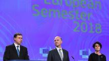 """La UE expresa su preocupación por la """"elevada"""" deuda de Italia"""