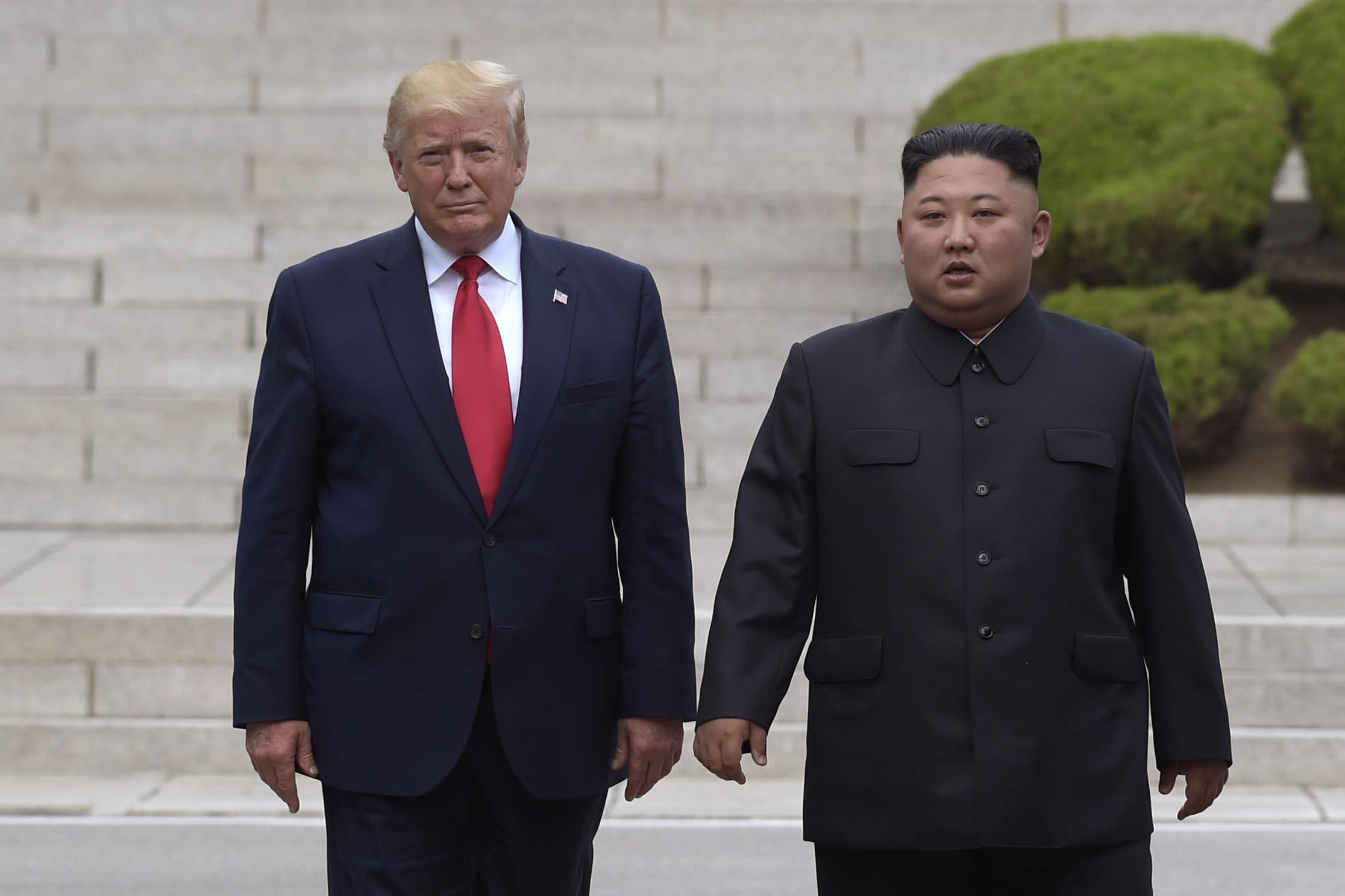 DPRK says Kim-Trump relations firm