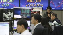 Asian shares higher after selloffs spurred by Chinese virus