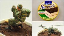 【不要玩食物】日本明治新甜品 泥土外觀潛力高