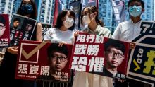 China says Hong Kong democracy activists trying to launch 'revolution'