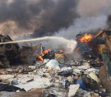 Explosion rocks central Beirut