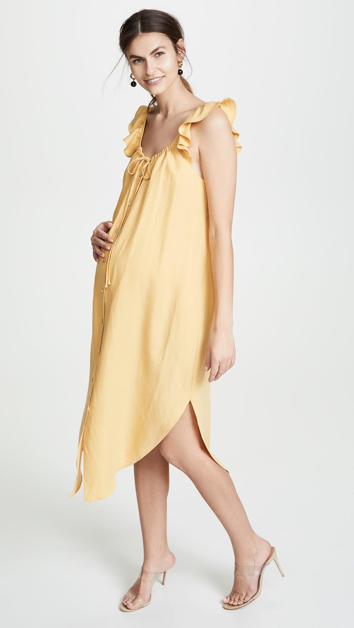 b24542fc77 These 11 Maternity Dresses Will Make You the Most Stylish Wedding Guest