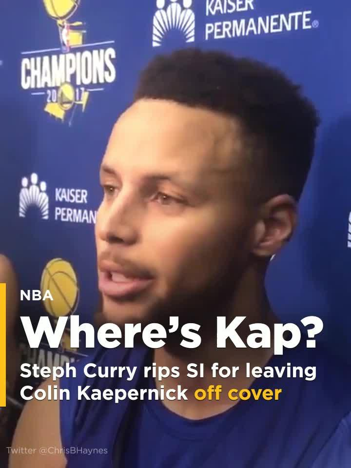 Stephen Curry rips Sports Illustrated for leaving Colin Kaepernick ...