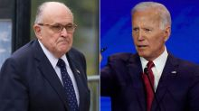Biden Campaign Presses TV News to Stop Interviewing Giuliani