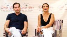 Juliana Paes e Leandro Hassum em entrevista exclusiva sobre 'Dona Flor e Seus Dois Maridos'