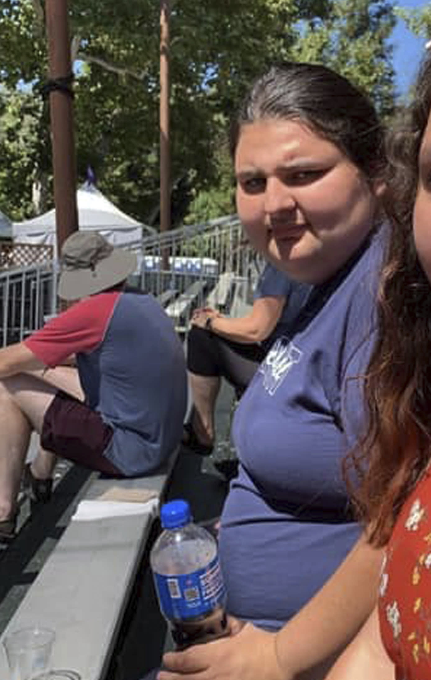 This undated photo provided by Maria G. Zalaya shows Keyla Salazar. She was one of three young people who died when a gunman opened fire at a popular California food festival Sunday. The 13-year-old from San Jose, Calif., died at the scene. (Maria G. Zalaya via AP)