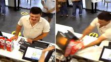 'Appalling': Customer's aggressive act over McDonald's Covid check-in