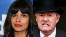 Jameela Jamil Unloads On Piers Morgan Over Meghan Markle Vogue Cover Criticism