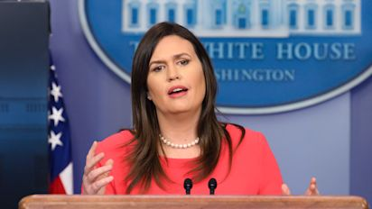 Sarah Sanders interviewed by special counsel