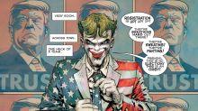 The Joker Joins The Trump Campaign In Bleak New 'Dark Knight Returns' Comic