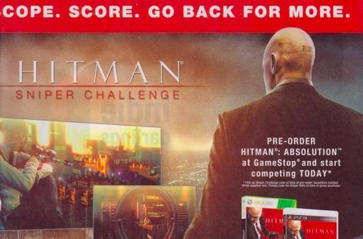 'Hitman: Sniper Challenge' spotted in magazine ad; spinoff game is Absolution pre-order bonus